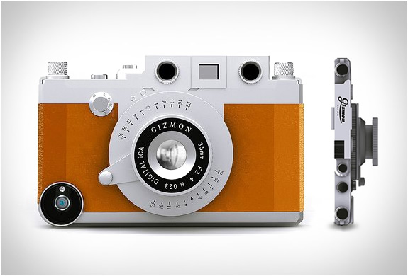 GIZMON | TURN YOUR IPHONE INTO A CLASSIC CAMERA | Image