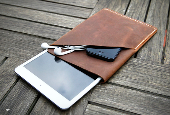 Ipad Mini Leather Sleeve | Image