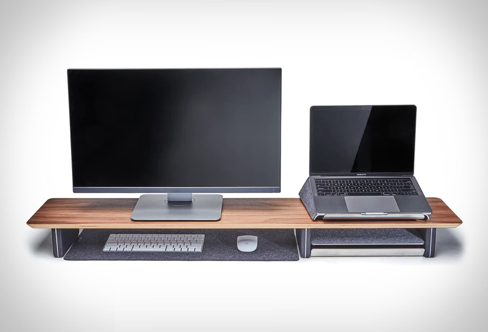 Grovemade Desk Shelf System | Image