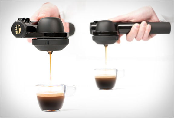 Portable Compact Coffee Maker : HANDPRESSO PORTABLE ESPRESSO MACHINE