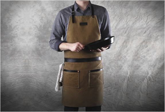 Rugged Man Aprons By Hardmill