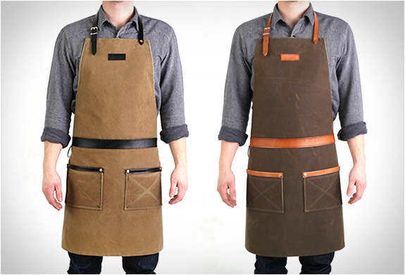 Rugged Man Aprons | By Hardmill | Image