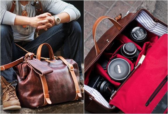 Roamographer Leather Camera Bag | By Holdfast | Image