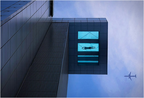 Glass Bottom Pool | Holiday Inn Shanghai | Image