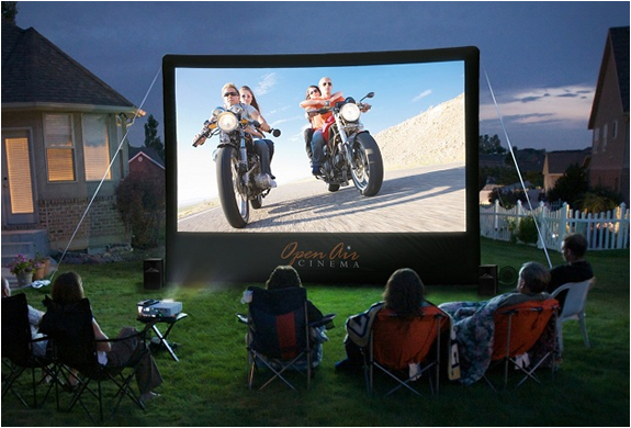 HOME BACKYARD THEATER SYSTEM | Image