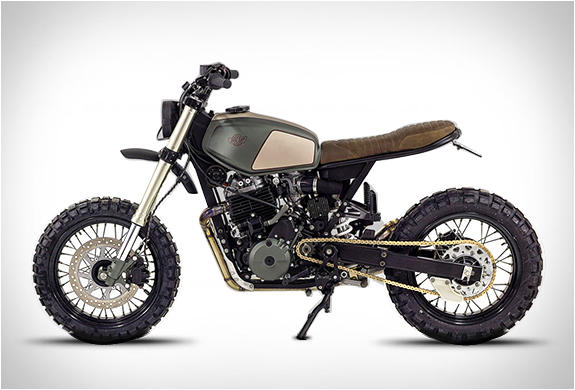 Honda 650 Muxima | By Ton-up Garage | Image