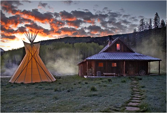 Dunton Hot Springs Resort | Colorado Usa | Image