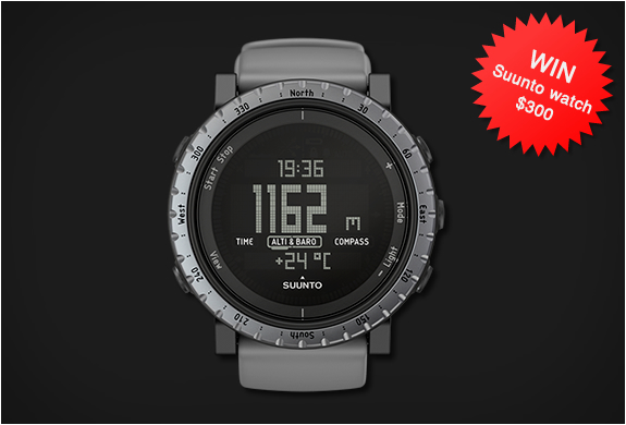 GIVEAWAY | SUUNTO WATCH | Image