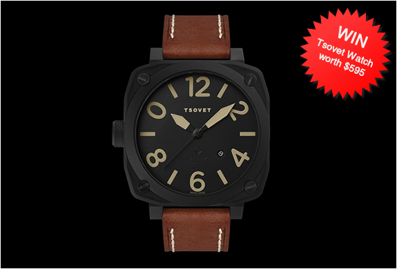 Giveaway | Tsovet Watch | Image
