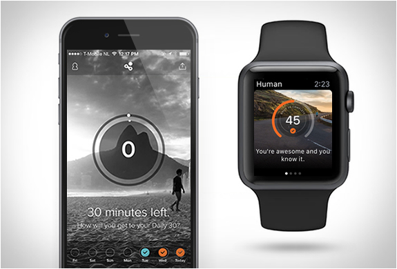 HUMAN | SIMPLE FITNESS TRACKING APP | Image