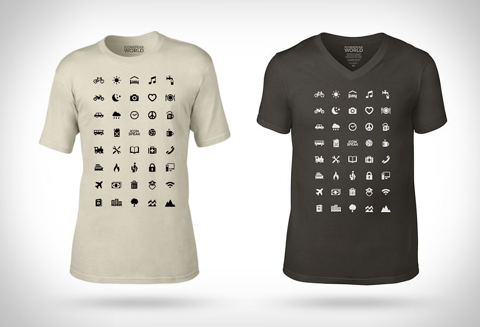Iconspeak Traveller T-Shirt | Image