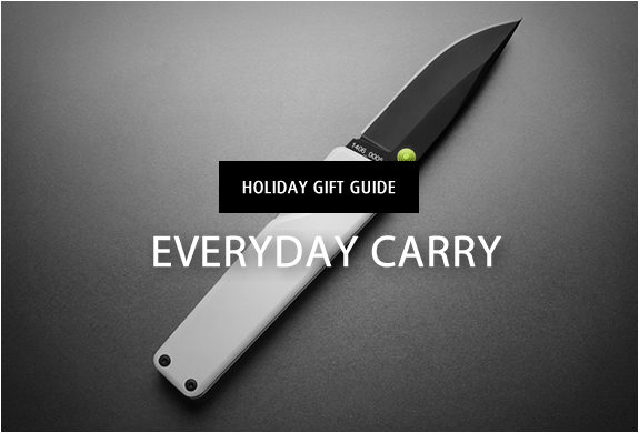 HOLIDAY GIFT GUIDE | EVERYDAY CARRY | Image