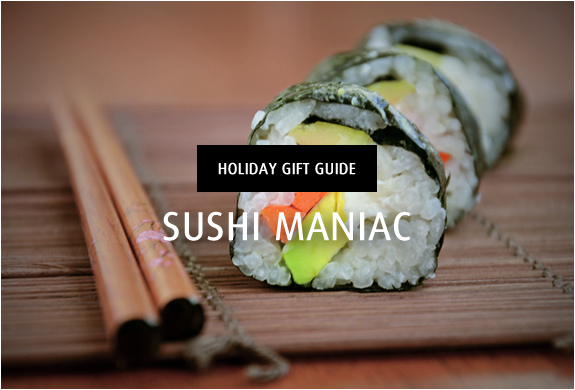 Holiday Gift Guide | Sushi Maniac | Image