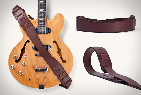 Troubadour Guitar Strap | By Tanner Goods | Image