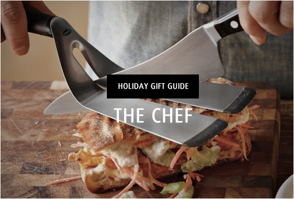 HOLIDAY GIFT GUIDE | THE CHEF | Image