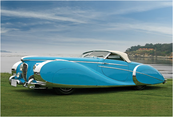 1949 DELAHAYE TYPE S ROADSTER | FOR AUCTION | Image