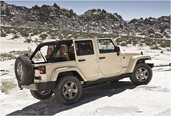 2011 Jeep Wrangler Mojave Limited Edition