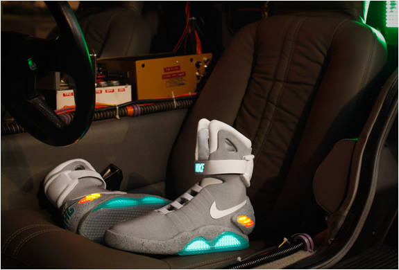 Limited Edition 2011 Nike Mag Back To The Future Sneakers