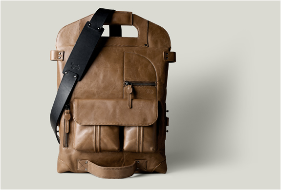 2unfold Laptop Bag | Hard Graft | Image