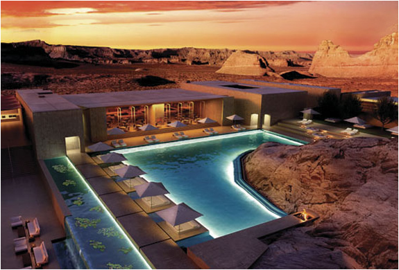 The amangiri resort utah for Design hotel utah