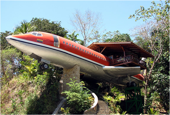 The Airplane Hotel | Costa Rica | Image