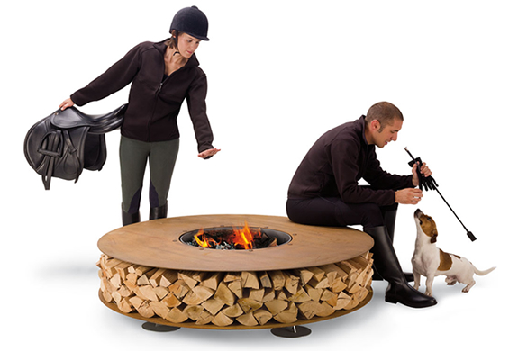 ZERO OUTDOOR FIREPLACE | BY AK47 DESIGN | Image