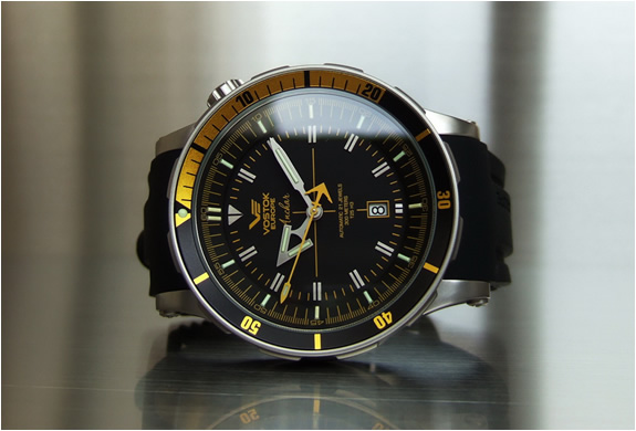 Anchar diving watch by vostok europe for Vostok europe watches