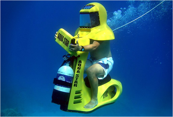 AS1 UNDERWATER DIVING SCOOTER | BY AQUA STAR | Image