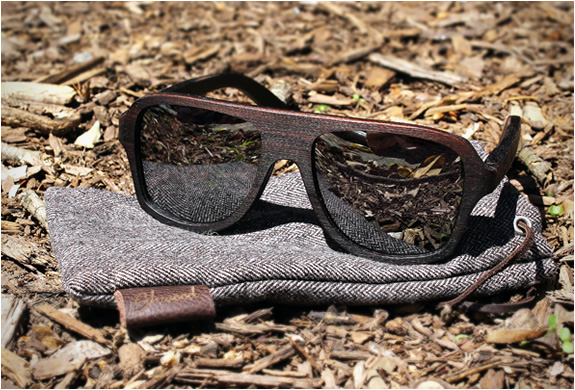 ASHLAND EAST INDIAN ROSEWOOD SUNGLASSES | BY SHWOOD | Image
