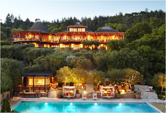 Auberge du soleil napa valley california for Best hotel in america