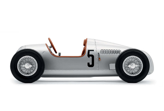 Auto Union Type C 1/2 Scale Pedal Car | Image