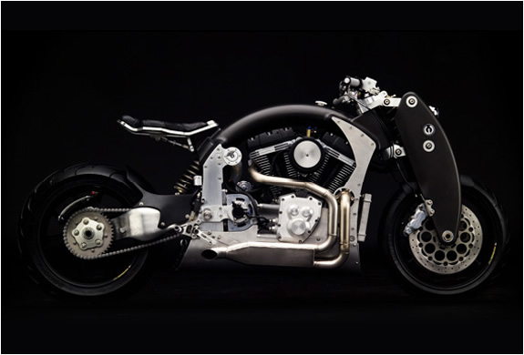 B120 WRAITH | BY CONFEDERATE MOTORCYCLES | Image