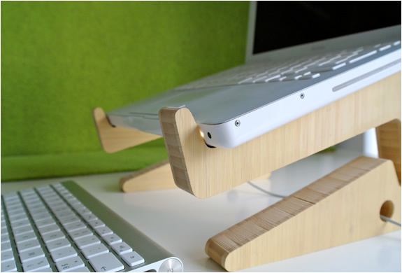 BAMBOO PUZZLE LAPTOPSTAND | Image