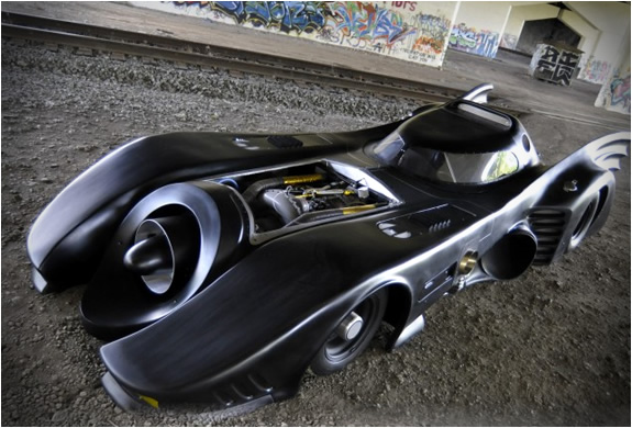 WORLDS ONLY JET TURBINE POWERED BATMOBILE | FOR SALE | Image