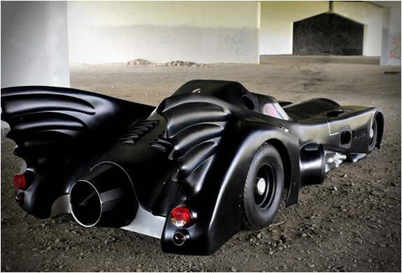 Worlds Only Jet Turbine Powered Batmobile For Sale