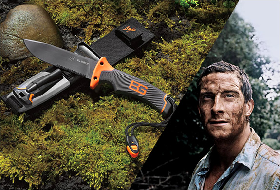 BEAR GRYLLS ULTIMATE SURVIVAL KNIFE | BY GERBER | Image