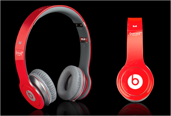 Monster Beats Solo Hd Red Headphones | Limited Edition | Image