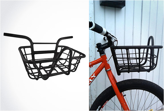 BICYCLE HANDLEBAR WITH INTEGRATED BASKET | Image