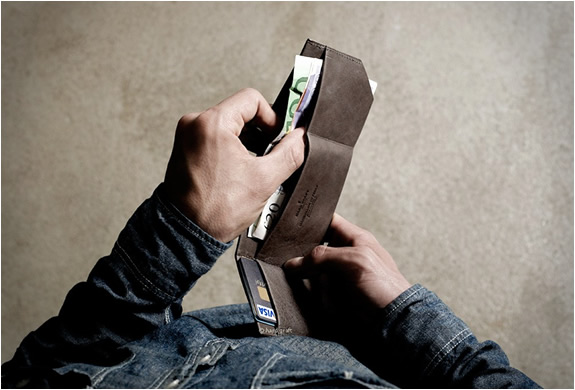 Bill Folder Wallet | By Hard Graft | Image