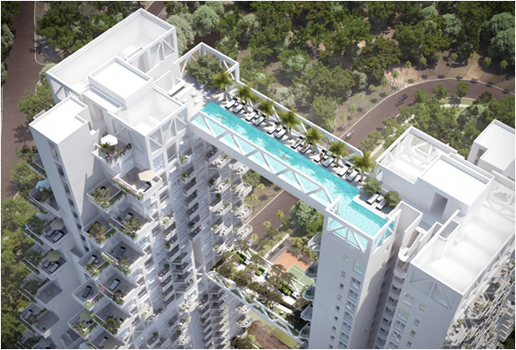 AMAZING RESIDENTIAL COMPLEX SINGAPORE | BY SAFDIE ARCHITECTS | Image