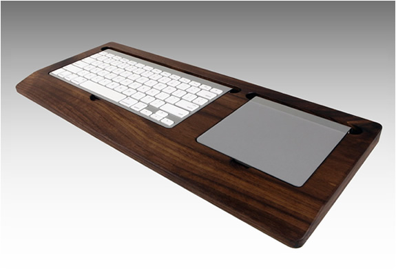 Black Walnut Keyboard Tray | By Combine | Image