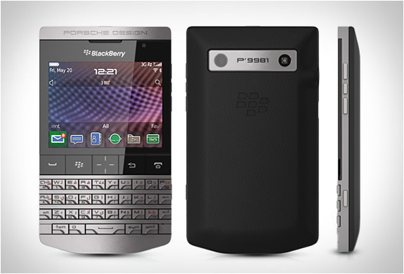 BLACKBERRY P9981 SMARTPHONE | BY PORSCHE DESIGN | Image