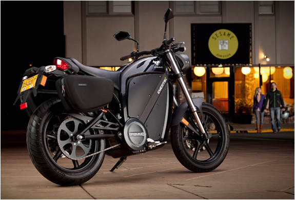 BRAMMO ENERTIA PLUS | 100% ELECTRIC MOTORCYCLE | Image
