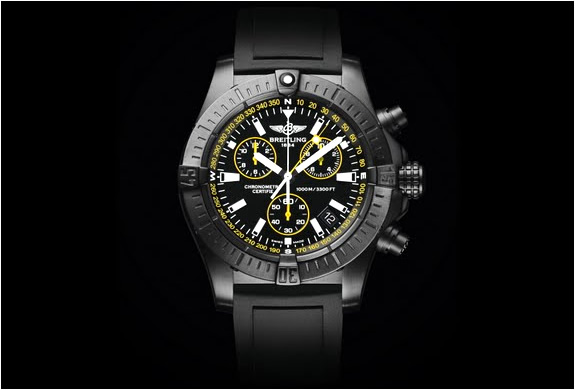 BREITLING AVENGER SEAWOLF CHRONO BLACKSTEEL | SPECIAL EDITION | Image