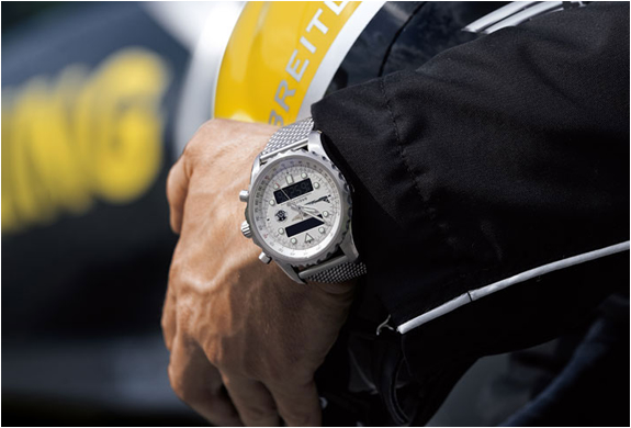 Limited Edition Breitling Chronospace Jet Team Watch | Image