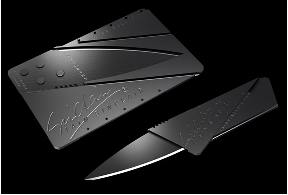 Cardsharp Pocket Knife | By Ian Sinclair Design | Image