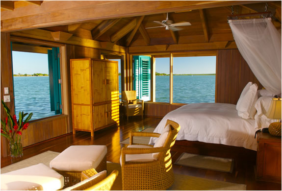 This Unique Bungalow Is The Most Intimate And Por Accommodation On Island Guests Are Always Enchanted By All Of Sea Life