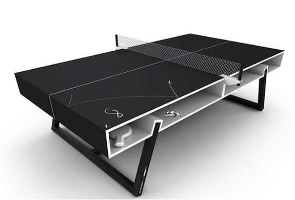 Chalk Ping Pong Table By Puma | Image