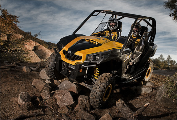 Commander 1000x Dirt Vehicle | By Can Am | Image