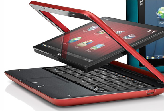 DELL INSPIRATION DUO TABLET NETBOOK HYBRID | Image